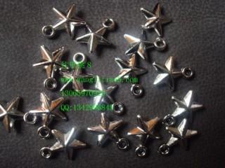 8000429--每包100个--白K五角星