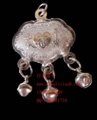 8000591--每包20个--银色福元宝