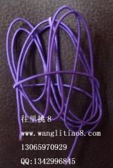 8000445--每包10米装--DIY饰品配件弹性线材--紫色