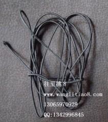 8000449--每包10米装--DIY饰品配件弹性线材--黑色