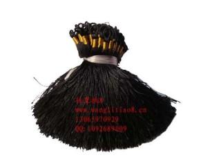 8000600--每包100个--流苏带圈型中国穗--黑色