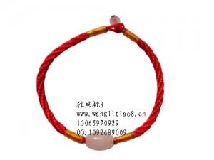 8000612--每包20条--单挂玉珠手链