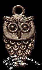 8000625--每包100个--藏银系列--扁猫头鹰