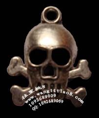 8000617--每包50个--藏银系列--骷髅怪