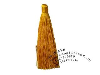 8000697--每包10个--饰品配件大号精品中国穗---黄色