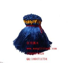 8000118--每包100个--流苏带圈型中国穗--宝蓝色