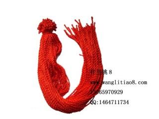 8000072-- 每包100个--七号线项链--红色
