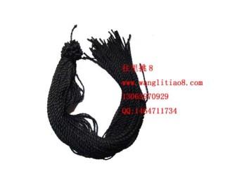 8000073--每包100个--七号线项链--黑色
