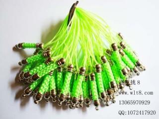 8205092--每包100个--渡银手机链--绿色