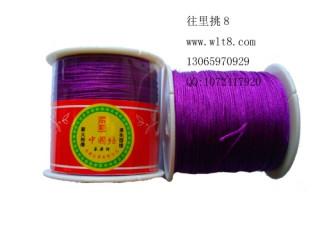 8000648--150米线材系列中国结线-紫色