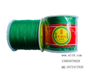 8000650--150米线材系列中国结线-绿色