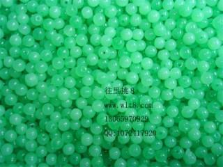8000911--每包1000个--6mm玉色玉珠
