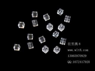 8205059--每包100个--独饰源方块水晶