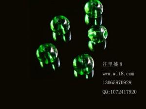 8000716--400装--8mm绿色圆珠子