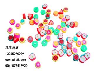 8205068--包100个--软陶水果--混装