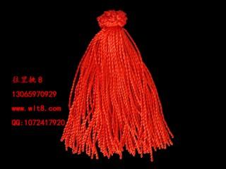 8000050--每捆100条本命年七号线细手链--红色