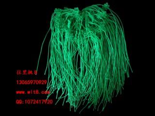 8000064 --每包100个--双线台湾线中国结--绿色