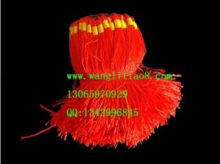 8000066--每包100个--流苏带圈型中国穗--红色