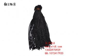 8000051--每捆100条--七号线手链--黑色