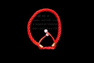 8000020--每包100个--两头拉手链小号--红色