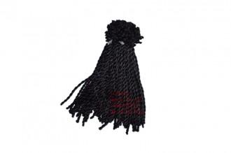 8000053--每包100个--六号线粗手链绳--黑色