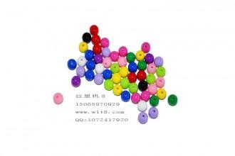 8000552--每包300个--8mm实色糖果珠--混装