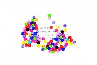 8000551--每包500个--6mm实色糖果珠--混装