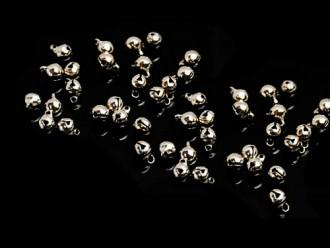 8000331--每包500个--6mm银色铁铃铛--银色