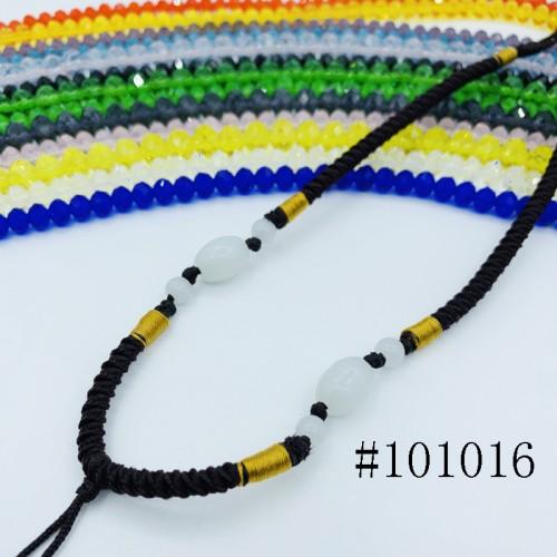 8001157--每包100条--多珠多水晶项链