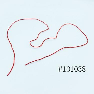 8000699--每包100个--一根线红色线最普通项链--红色